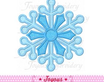 Sofortiger Download Schneeflocke Stickerei Applique Design Nr.: 1640