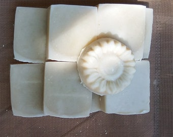Unscented soap for sensitive skin