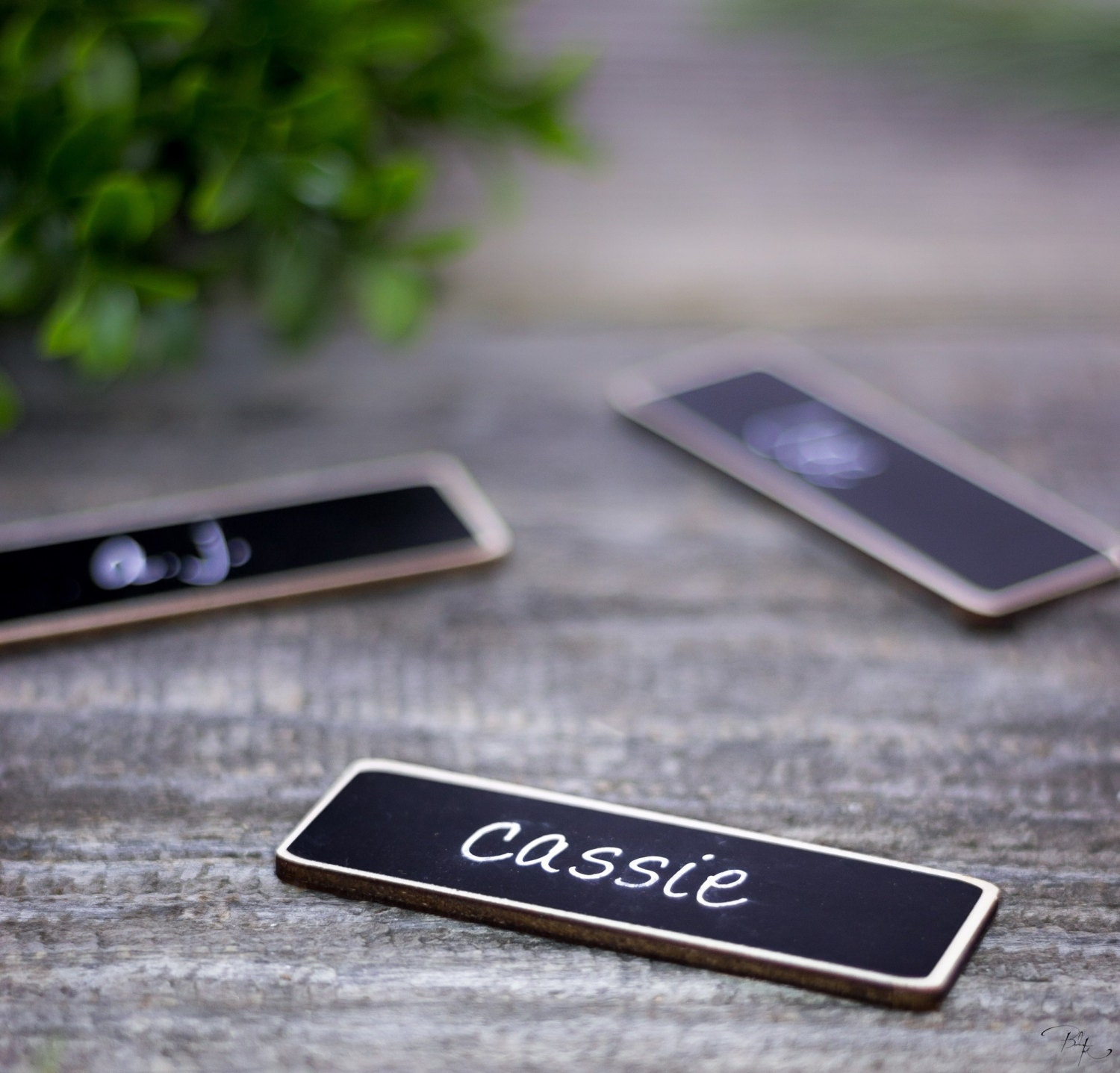magnetic name tags 6 chalkboard name tags as seen on google