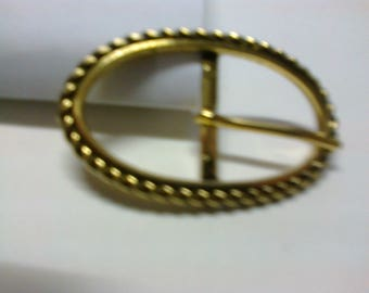 Oval Loop brass passage 2.2 cm * BO62 *.