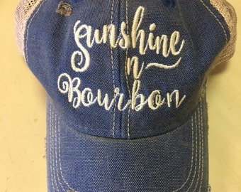 Sunshine ~n~ Bourbon Ball Cap