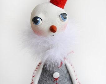 Whimsical Snowman - Christmas Snowman - Whimsical Christmas
