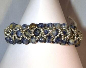 Sodalite Bangle style Bracelet