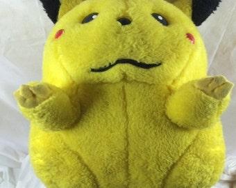 Giant Pikachu Plush Stuffed Animal - Vintage - 14 Inches