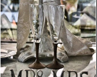 Mr & Mrs Unique Wedding Table Signage