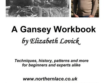 pdf  copy of the The Gansey Workbook by Elizabeth Lovick - instant download