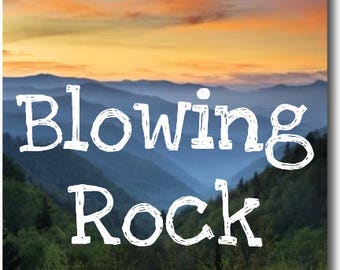 Blowing Rock North Carolina Magnet