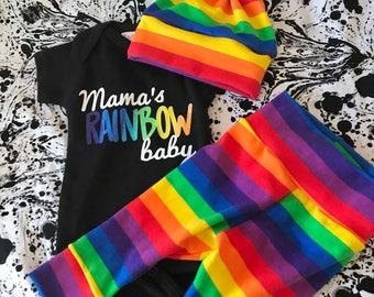 Rainbow Baby Hat, Knot Hat, Newborn Hat, Infant Hat, Personalized Hat, Rainbow Baby, Rainbow Outfit, Rainbow Baby Outfit, Rainbow Baby