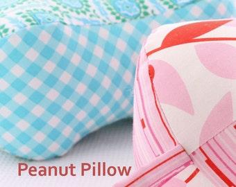 Peanut Pillow PDF Sewing Pattern