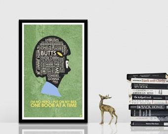Bob's Burgers - Tina Quote Poster