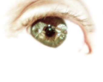 Reflections in a Green Eye Art Photography Wall Art Room decor - The Art of Boredom - a Fine Art Photograph