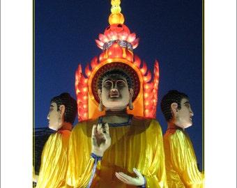 Buddha, Chinese Lantern Festival