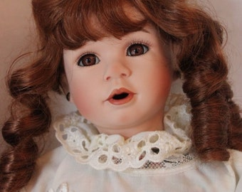 "Beautiful Seymour Mann Doll ""Tiffany"" Limited Edition in Box 12/5000"