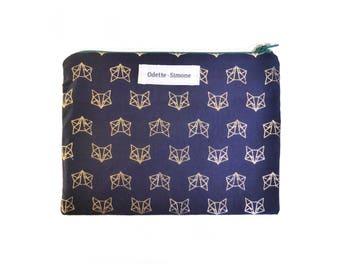 SOFIA Golden Fox pouch