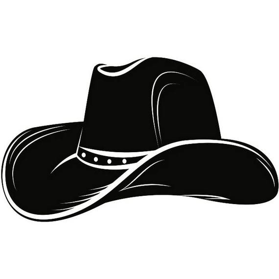Western Horse Riding Clipart Cowboy Hat 4 Leather F...