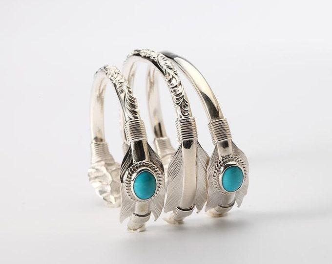 Silver Arrow Bangle   Native American Inspired   Arrow Bracelet   Arrow Jewelry   Hammered Silver Bangle   Tribal Bracelet   Bohemian Bangle