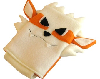 JULY PREORDER 3ds XL Case / Custom Size Pokemon Arcanine pouch carrying case new 3ds / 3ds xl / nintendo switch / psp vita holder cozy