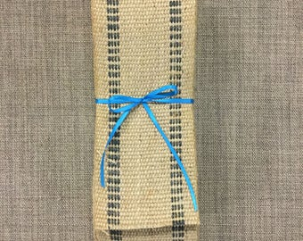 8 Yards Upholstery Jute Webbing-Black