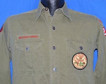 40s Boy Scouts Of America Uniform Shirt Small