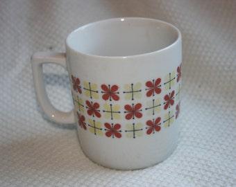 vintage quirky print mug