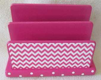 Letter, Bill Holder - Desk Organizer - Sorter