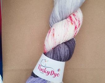 TinkyDye Merino/Nylon sock yarn 100g/400m