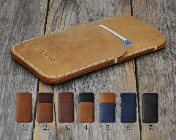 Nokia 1 7 2 8 6 5 3 Sirocco Plus (2018) PERSONALIZED ENGRAVED Case Handmade Cover Leather Shell Wallet Sleeve Vintage Style Custom Sizes