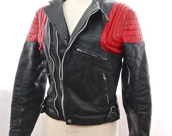 """British Vintage Lewis Leathers Bikers Jacket / Racer Motorcycle Jacket 40"""""""