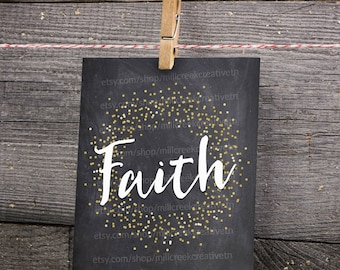 Faith Printable Wall Art - Instant Download