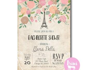 French theme invitation paris bridal shower invitation bon french bachelorette party invitation paris bridal shower invitation french bachelorette party invite stopboris Images