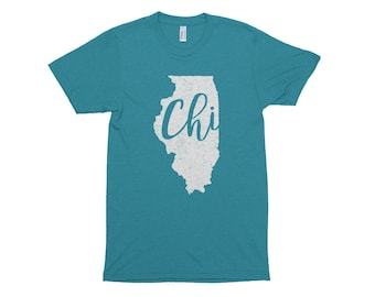 Chicago Shirt // Chicago Gift // Illinois Shirt // Gift For Her // Gift For Him // The Busy Bee