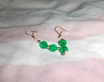 Golden Colors earrings part 2