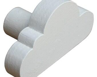Cloud Drawer Knob - White Cloud Drawer Pull