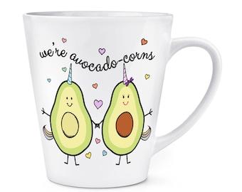 We're Avocadocorns 12oz Latte Mug Cup