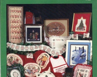 Merry Christmas From Cross My Heart - Cross Stitch Pattern Leaflet