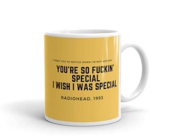 Radiohead Creep mug