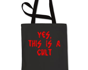Yes, This Is A Cult Shopping Tote Bag
