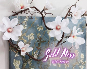 Fake Flower Arrangements: Magnolia Flower, Fake Flower Bouquets, Silk Flowers, Floral Wedding, Wedding Bouquet, Wedding Party, Flower Garden