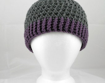 Crochet Hat Pattern: The Gridlock, Unisex