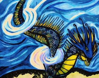 dragon, illustration, art print, wall art, dragon art print, dragon artwork, fantasy artwork, fantasy art, dragon illustrations,