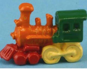 Miniature Dollhouse Multicolored Toy Train
