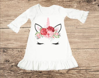 Unicorn Dress for Valentine's Day