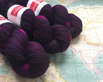 BFL Supersock British Bluefaced Leicester / Nylon sock yarn - Hogmanay