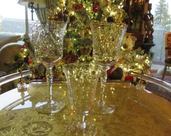 ETCHED VINTAGE GLASSES