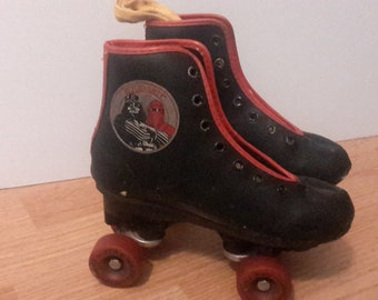 star wars return of jedi child's roller skates used 1980s