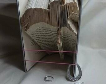 Half Price Sale - Horse Racer - Book Folding Pattern