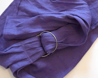 LARGE Doll Ring Sling Carrier - Lilac Purple
