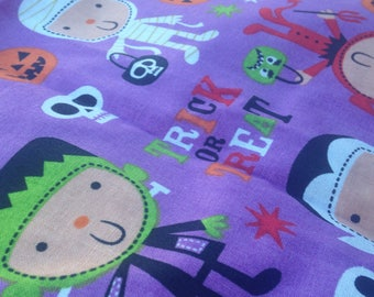 Halloween Costume Trick Or Treat Fabric