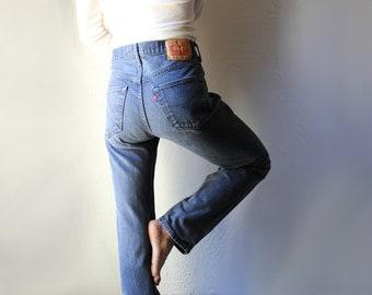 Levi's 501 Button Fly Jeans // 31x32 // Graphite Matte Black