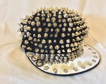 Spiked Snapback hat